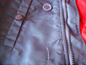 How to repair rips, tears & holes on garments that cannot turn inside out